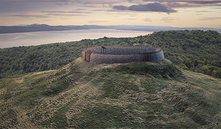 3D Visualisation of Dundee Law to go on show at The McManus