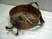 Basket with strap