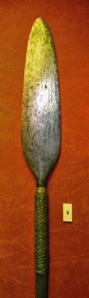 'Assegai' stabbing spear