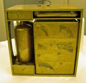 Lacquer picnic box, Japanese