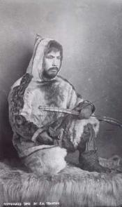 Portrait of Shedule, an Inuit