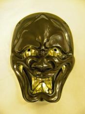 Japanese theatre mask