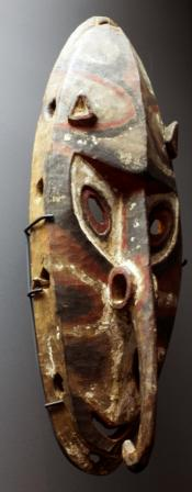 Sepik River mask