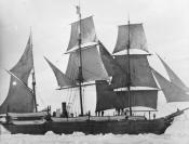Photograph of whaling ship S.S. 'Active'