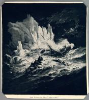 """Drawing clipped from magazine: 'The Wreck of the """"Vaillant""""'"""
