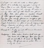 Page three of a four page document related to whaling