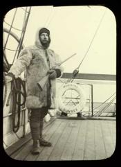 Sandon Perkins on board the Dundee whaling ship 'Morning'