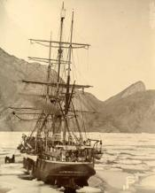 Dundee whaling ship 'Balaena' in ice near Disco Island