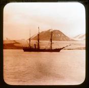 S.S. 'Eclipse' moored off Disko Island