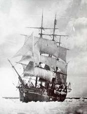 S.S. 'Maud' in pack ice