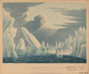 Passage through the Ice, June 16th, 1818
