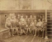 Crew of a whaler built by Russell and Co., Glasgow and Greenock