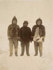 Three Eskimos