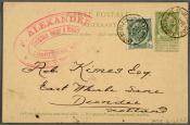 Postcard to Mr Robert Kinnes, dated 20-11-02.