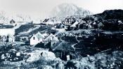 European style settlement in Davis Straits area