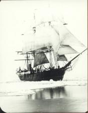 'Eclipse' under sail in pack ice