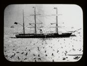 Seaman's painting of SS 'Arctic'