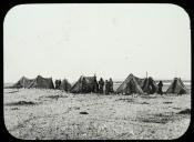 Inuit encampment on stony ground