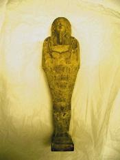 Shabti figure, carrying tools