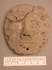 plaster/clay face mask