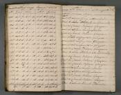 Cargo book of whaler Dorothy