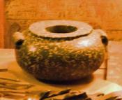 Porphyry bowl
