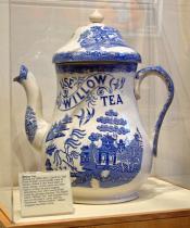Giant Advertising Teapot for Willow Tea