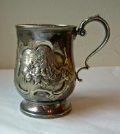 Silver Christening Mug, 1863