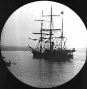 Whaling ship in the River Tay