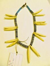 Necklace, with bone points