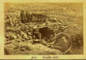 Iglu. Winter hut