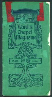 Ward Chapel Magazine. March 1904