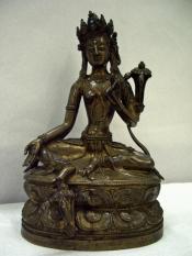 Figure of Green Tara