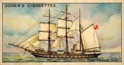 Ogdens cigarette cards, whaling series. 25 in the series. 20, The 'Truelove'
