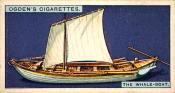 Ogdens cigarette cards, whaling series. 25 in the series. 5. The Whale Boat