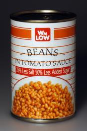 Wm. Low's Beans in Tomato Sauce
