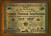 World War I Brass Remembrance plaque