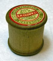 Cotton reel from D.M.Brown