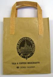Brown Braithwaites' paper bag