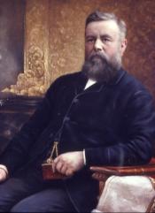 Portrait of Captain Wm. Adams Sr.(1832-1890)