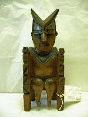 Funerary figure, 'kunderek'