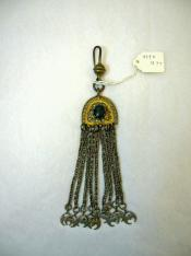Earring with nine suspended chains, Islamic
